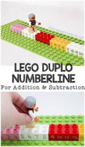 duplo numberline